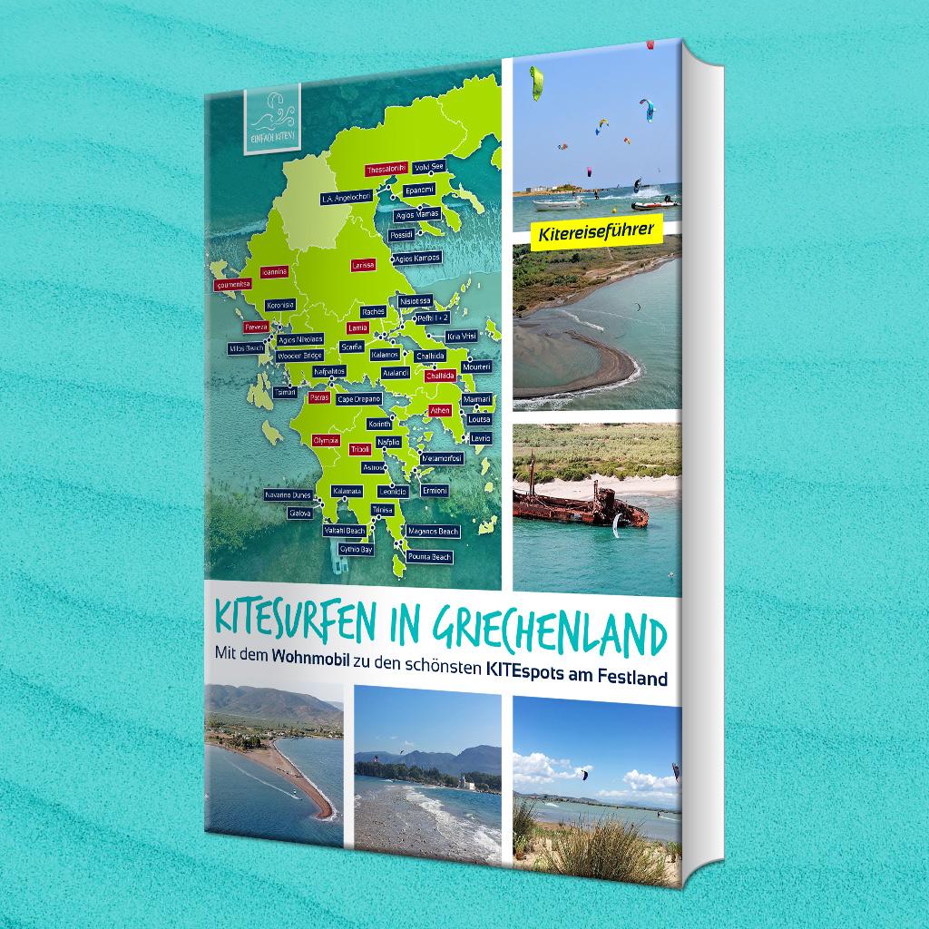 Buchcover-Griechenland-Kitereiseguide