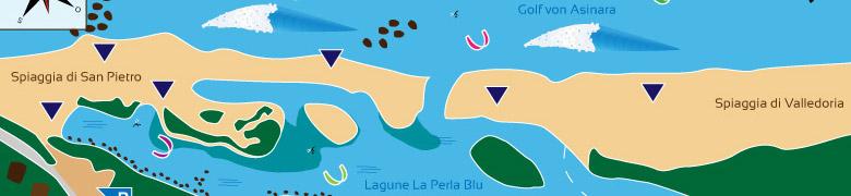 Kitespotbeschreibung von Valledoria