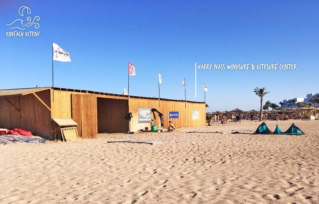 Harry Nass, Windsurf und Kitesurf Center in Hurghada