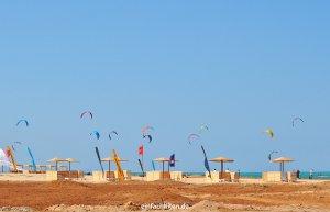 Kitesurfer in El Gouna