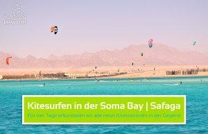Kitesurfen in der Soma Bay bei Safaga