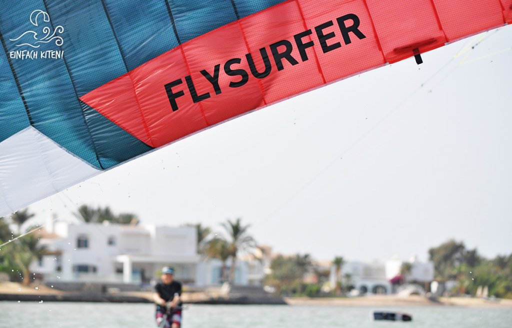 Flysurfer Soul beim Wasserstart