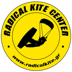 Logo der Kiteschule: Radical Kite Center