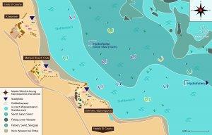 Spotbeschreibung: Nördlichster Kitestrand El Gouna, Ägypten