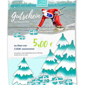 Geschenk Gutschein 5€