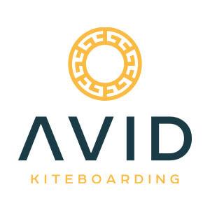 Logo der Kiteschule: Avid Kiteboarding