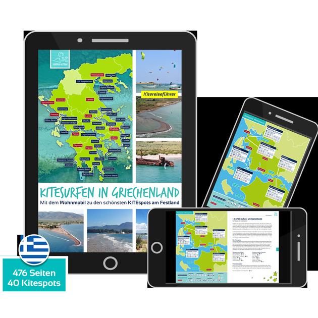 EBook: Kitesurfen in Griechenland - der Kitereiseguide