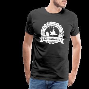 Kiteaholic - Männer Premium T-Shirt