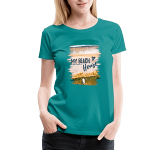 My Beach House - Frauen Premium T-Shirt