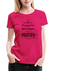 Prinzessin & Drachen - Frauen Premium T-Shirt