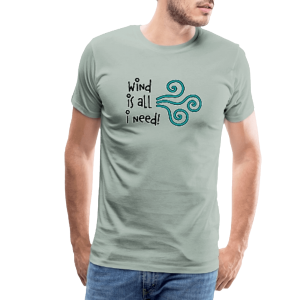 Wind is all - Männer Premium T-Shirt