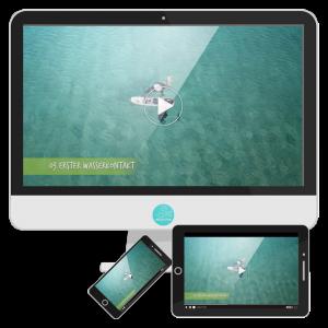 Produkt Kitefoilvideokurs Erster Wasserkontakt
