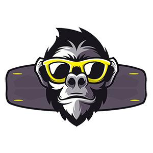 Logo der Kiteschule: Kitemonkey Fehmarn
