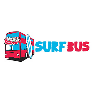 Logo der Kiteschule: Supreme Surfbus