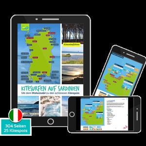 EBook: Kitesurfen auf Sardinien